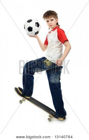 Sport theme, leisure, active life of young people. Shot in studio.