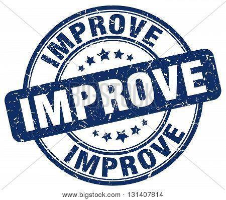 improve blue grunge round vintage rubber stamp.improve stamp.improve round stamp.improve grunge stamp.improve.improve vintage stamp.