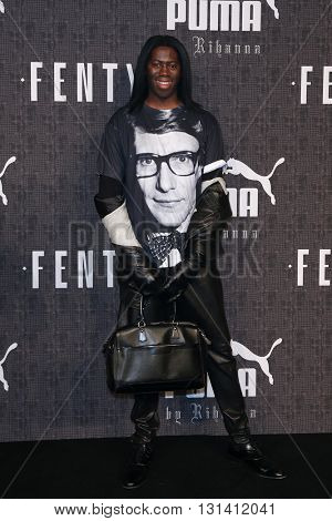 NEW YORK-FEB 12: J. Alexander attends the FENTY PUMA by Rihanna AW16 Collection during Fall 2016 New York Fashion Week at 23 Wall Street on February 12, 2016 in New York City.