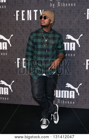 NEW YORK-FEB 12: Recording artist Ne-Yo attends the FENTY PUMA by Rihanna AW16 Collection during Fall 2016 New York Fashion Week at 23 Wall Street on February 12, 2016 in New York City.