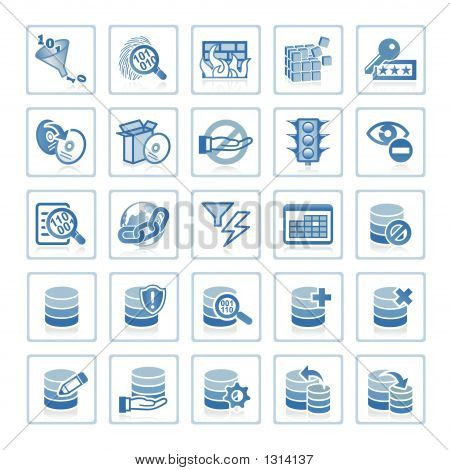 Web Icons : Internet Security And Database Management