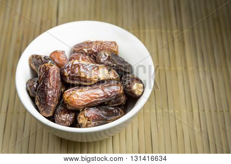 Sweet Dates, Common Break Fast Food Among Muslim During Ramadan