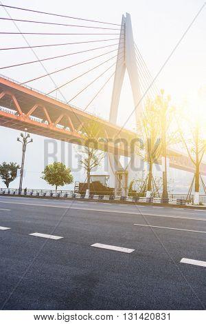 yangtze river bridge,chongqing china.