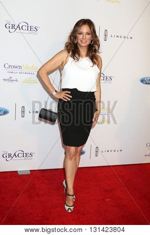 LOS ANGELES - MAY 24:  Alex Meneses at the 41st Annual Gracie Awards Gala at Beverly Wilshire Hotel on May 24, 2016 in Beverly Hills, CA