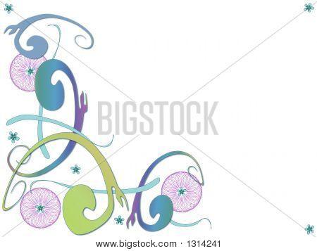 Scrolling Modern Colorful Swirls