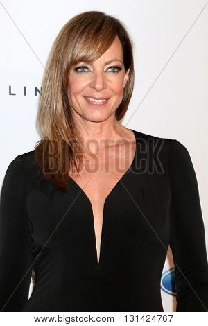 LOS ANGELES - MAY 24:  Allison Janney at the 41st Annual Gracie Awards Gala at Beverly Wilshire Hotel on May 24, 2016 in Beverly Hills, CA
