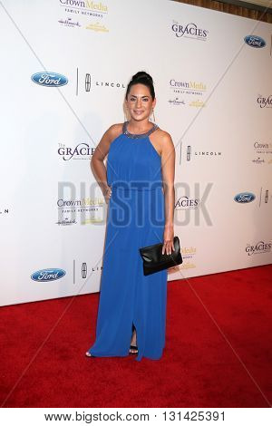 LOS ANGELES - MAY 24:  Melia Patria at the 41st Annual Gracie Awards Gala at Beverly Wilshire Hotel on May 24, 2016 in Beverly Hills, CA