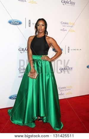 LOS ANGELES - MAY 24:  Michelle Mitchenor at the 41st Annual Gracie Awards Gala at Beverly Wilshire Hotel on May 24, 2016 in Beverly Hills, CA