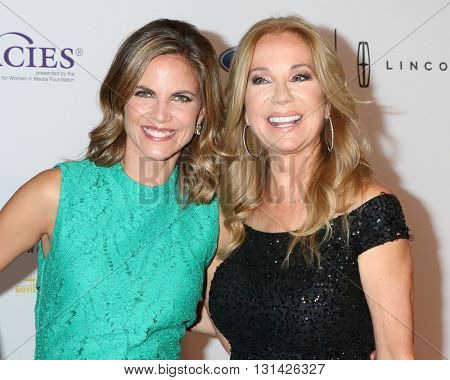 LOS ANGELES - MAY 24:  Natalie Morales, Kathie Lee Gifford at the 41st Annual Gracie Awards Gala at Beverly Wilshire Hotel on May 24, 2016 in Beverly Hills, CA