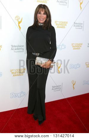 LOS ANGELES - MAY 25:  Kate Linder at the 37th College Television Awards at Skirball Cultural Center on May 25, 2016 in Los Angeles, CA
