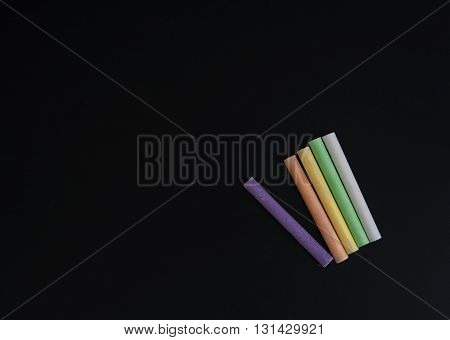 Black school board on her colorful crayons