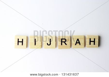 new month of islamic calander called hijrah