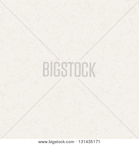 Vector Seamless Texture of white cardboard. Scratched decorative beckground.