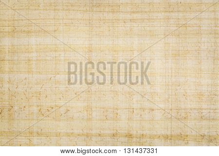 Egyptian papyrus paper background. Papyrus, a renewable plant resource, is the oldest writing material in existence today, dating back at least 5,000 years.