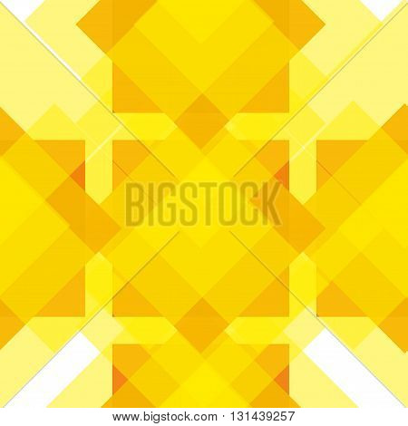 Seamless yellow geometrical pattern for your design