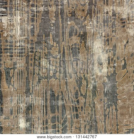 Decorative vintage texture or creative grunge background with different color patterns: yellow (beige); brown; gray; black