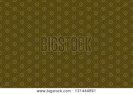 Golden ornamental seamless pattern. Vector illustration. art arabic