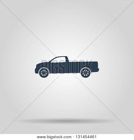 pickup Icon. Vector concept illustration for design.