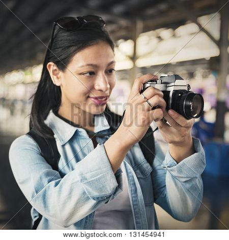 Adventure Photograph Camera Leisure Activity Concept