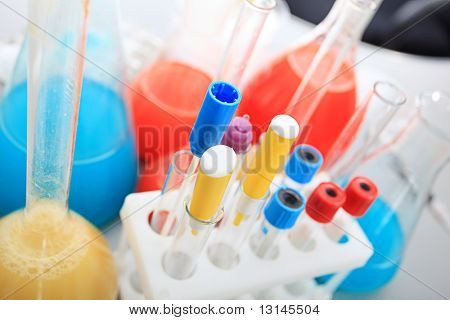 Medical theme: equipment, objects, laboratory.