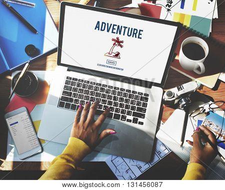 Adventure Experience Explore Journey Travel Concept