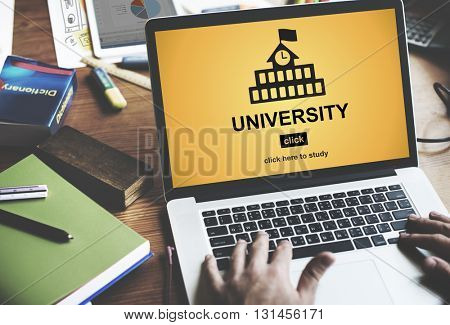 University Education Wisdom Knowledge Learn Concept