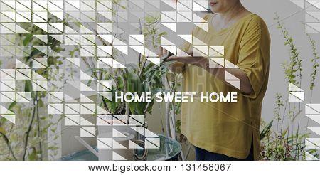 Home Office Work Job Independance Concept