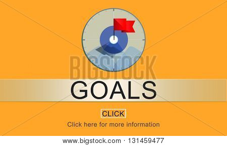Goal Inspiration Achievement Aspiration Concept