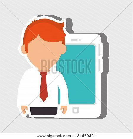 user technology design, vector illustration eps10 graphic