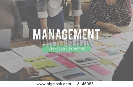 Management Analysis Controlling Dealing Concept