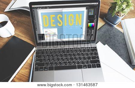 Design Creative Trends Graphic Concept