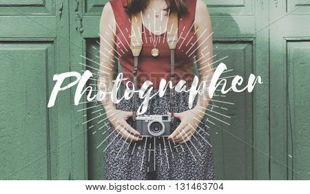 Photography Photographer Photo Camera Lifestyle Concept