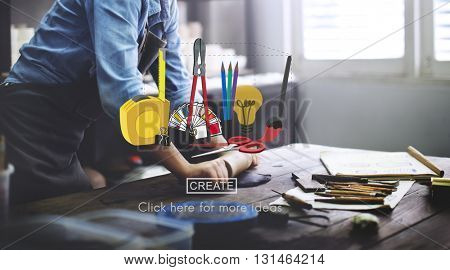 Craft Creation Ideas Design Art Concept