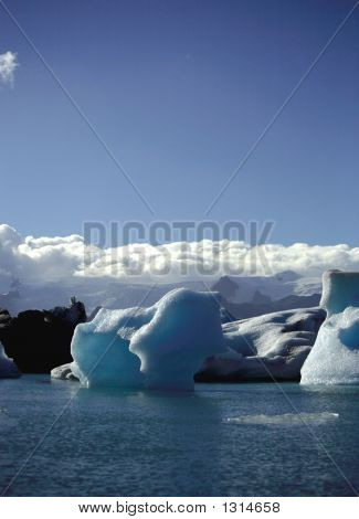 Icebergs & Clouds
