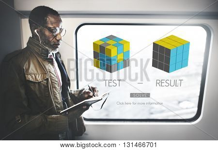 Test Result Development Evaluation Progress Concept