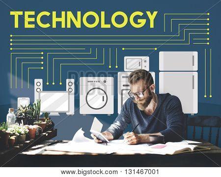 Technology Science Evolution Innovation Advanced Concept