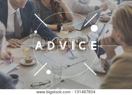Advice Help Support Service Social Concept