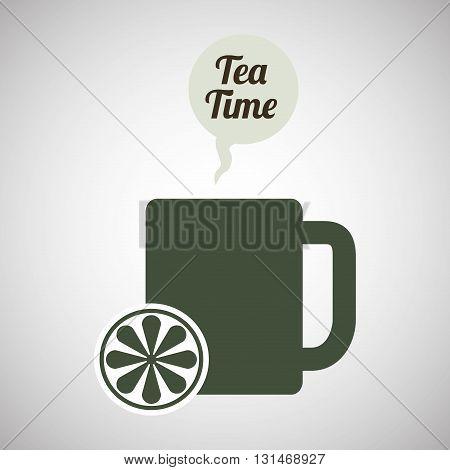 tea concept with icon design, vector illustration 10 eps graphic.