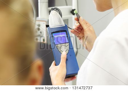 Equipment laryngological, diagnostic for hearing tests .