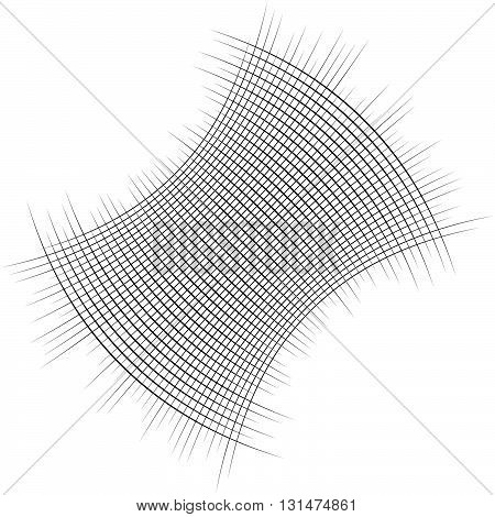 Intersecting Lines. Grid, Mesh Pattern. Abstract Illustration.