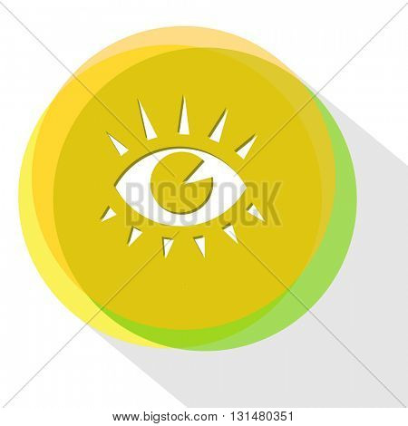 eye. Internet template. Vector icon.