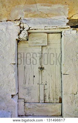 window of a traditional house in Vasiliki village, Lefkada, Ionian Islands, Greece