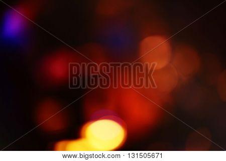 Blurred stage background