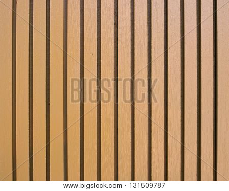 Wood lath wall for background and texture.