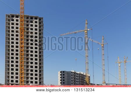 New Construction Building Tenement Apartment House