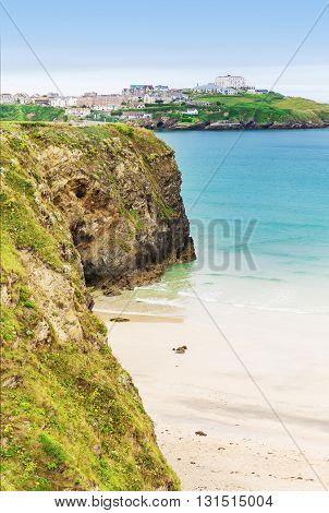 Popular St Agnes And Chapel Porth Atlantic Ocean Coast, Cornwall