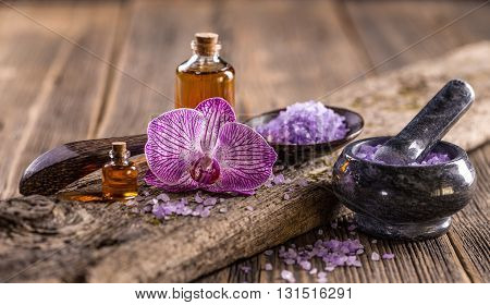 Lavender Oil And Salt