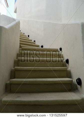 Architectural design of stairs Construction detail stairway composition