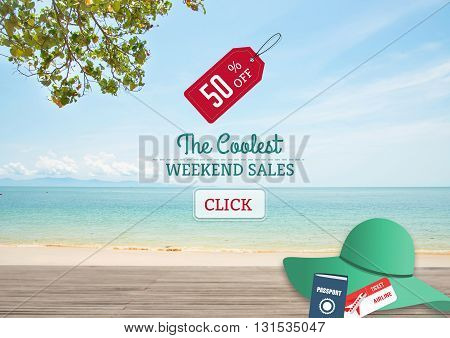 Weekend Big Sale Promotion Discount deal last summer.
