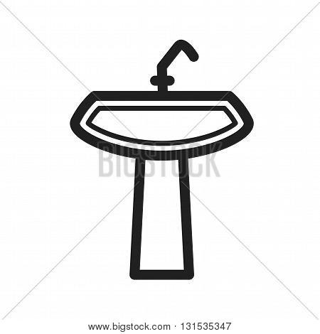 Sink, water, house icon vector image.Can also be used for home. Suitable for mobile apps, web apps and print media.